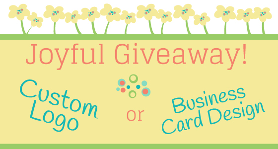 Joyful Roots Give-Back Day: Win a Logo or Business Card Design!