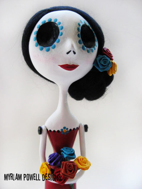 Art Dolls & Needle Felting by Myriam Powell Designs
