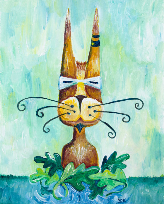 Roofus Whiskers by Kimberly Kling JOYling