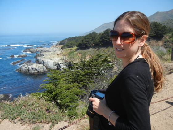 An incredible view in Big Sur!