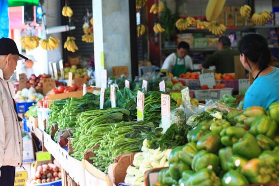 Veggies in Chinatown