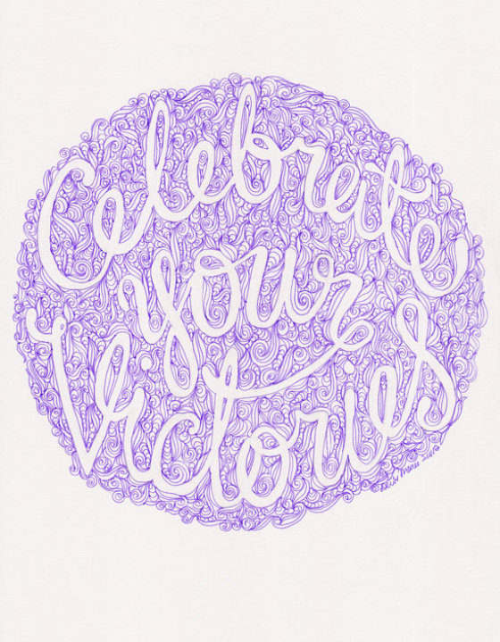 Celebrate Your Victories by Dewi Marie