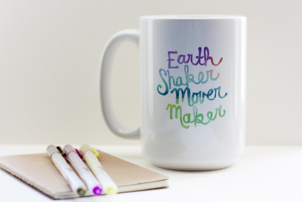Inspirational Coffee Mug For Creative People and Makers - Joyful ...