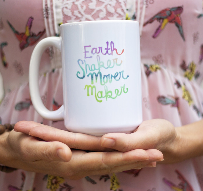 August 10xJOY – Earth Shaker Mover Maker Coffee Mugs!