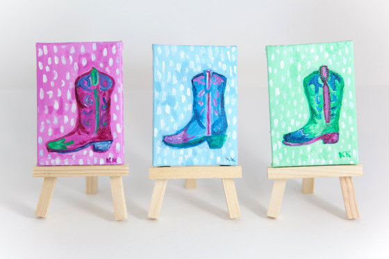Colorful Cowgirl Boots
