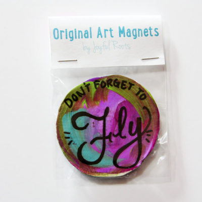 Original Art Magnet Affordable Art Don't Forget To Fly