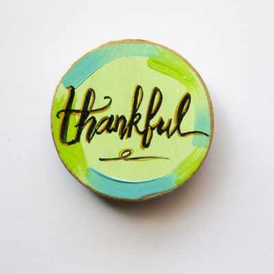 Thankful Mantra Magnet