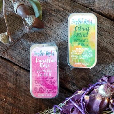 Botanical Lip Balms by Joyful Roots