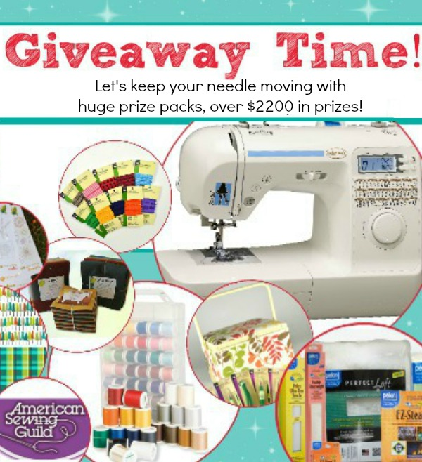 A Huge Giveaway at The Sewing Loft